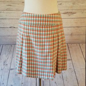 NWT Ivy Jane Size 6 Houndstooth Skirt